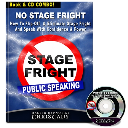 How to flip off and overcome and eliminate stage fright fear of public speaking and speak with confidence and power program cd and book