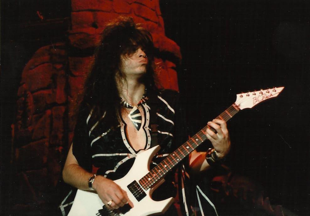craig goldy guitar player of Dio ronnie james dio Giuffria, rough cutt